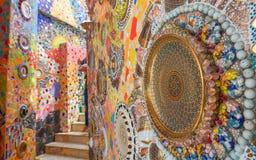 Arte della scultura della parete Immagini Stock