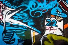 Arte della spiaggia di Venezia Immagini Stock Libere da Diritti