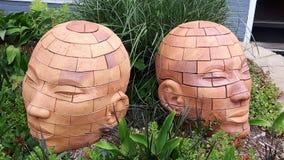 Arte della testa umana Fotografia Stock Libera da Diritti
