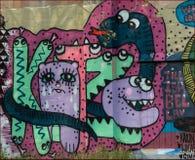 Arte della via Immagine Stock