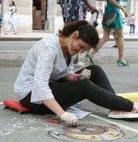 Arte della via Immagini Stock