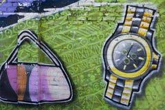 Arte della via accessori Fotografia Stock Libera da Diritti