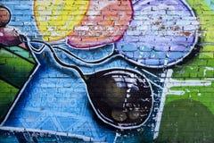 Arte della via aerostati Immagine Stock