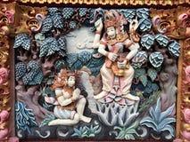 Arte della via di Bali immagini stock