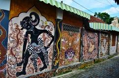 Arte della via di Malioboro Immagini Stock Libere da Diritti