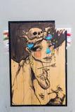 Arte della via a Firenze, Italia Fotografie Stock Libere da Diritti