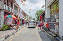 Arte della via a Georgetown, Penang immagini stock libere da diritti
