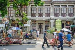 Arte della via a Georgetown, Penang Immagine Stock