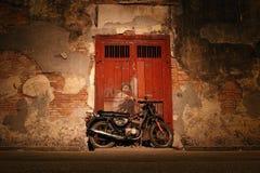 Arte della via a Georgetown Penang, Malesia Fotografia Stock
