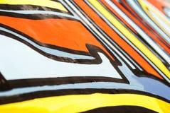Arte della via - graffito Immagine Stock Libera da Diritti