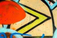 arte della via - graffti Immagine Stock