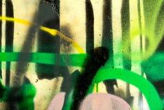 arte della via - graffti Immagine Stock Libera da Diritti