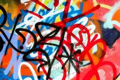 arte della via - graffti Fotografie Stock