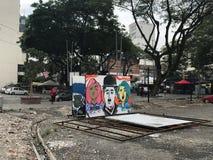 Arte della via in Kuala Lumpur fotografie stock