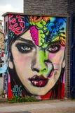 Arte della via a Londra Fotografia Stock