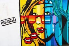Arte della via a Londra, Regno Unito Immagini Stock