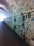 Arte della via a Lugano Immagini Stock Libere da Diritti