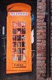 Arte della via a Manchester, Regno Unito Immagini Stock Libere da Diritti