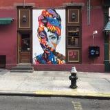 Arte della via, New York Immagini Stock