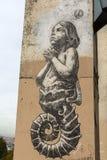 Arte della via a Parigi, Francia Immagini Stock Libere da Diritti