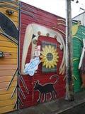 Arte della via a San Francisco Immagini Stock
