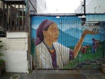 Arte della via a San Francisco Fotografia Stock Libera da Diritti