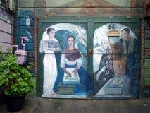 Arte della via a San Francisco Fotografia Stock
