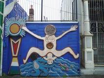 Arte della via a San Francisco Fotografie Stock Libere da Diritti