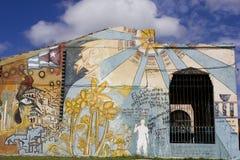 Arte della via in Santa Clara, Cuba Fotografie Stock