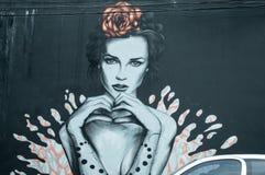 Arte della via a Sao Paulo immagine stock libera da diritti