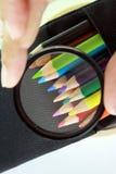 Arte delle matite colorate Fotografia Stock