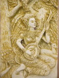 Arte di angelo della Tailandia Fotografia Stock Libera da Diritti