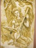 Arte di angelo della Tailandia Immagini Stock