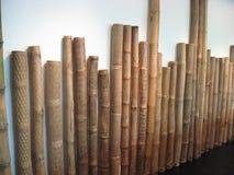 Arte di bamb? tradizionale nel museo di Ayala, zona verde di Makati, citt? di Makati fotografia stock