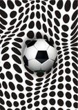 Arte di calcio Fotografia Stock