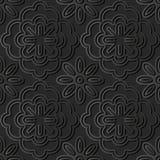 arte di carta scura 3D illustrazione di stock