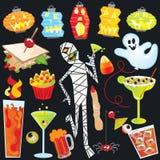 Arte di clip del partito di Halloween Immagini Stock Libere da Diritti