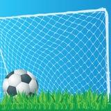 Arte di clip di gioco del calcio Immagini Stock