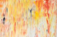 Arte di colore della parete Fotografie Stock Libere da Diritti