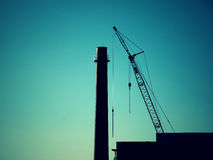 Arte di costruzione Fotografie Stock