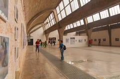 Arte di Dashanzi, 798 via, Pechino il 25 maggio 2013 Fotografia Stock Libera da Diritti