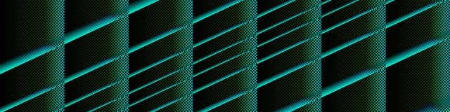 Arte di Digital, oggetti tridimensionali astratti con illuminazione morbida Fotografia Stock