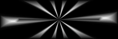 Arte di Digital, oggetti tridimensionali astratti con illuminazione morbida Fotografie Stock