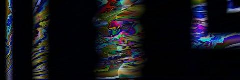 Arte di Digital, oggetti tridimensionali astratti con illuminazione morbida Immagine Stock