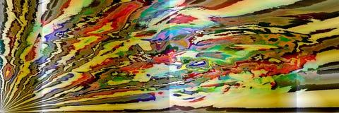 Arte di Digital, oggetti tridimensionali astratti con illuminazione morbida Fotografie Stock Libere da Diritti