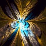Arte di frattale di Phoenix immagini stock