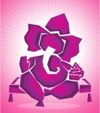 Arte 2 di ganesha di signore royalty illustrazione gratis