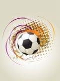 Arte di gioco del calcio Immagine Stock
