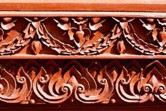 Arte di legno Fotografia Stock Libera da Diritti