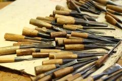 Arte di legno Immagine Stock Libera da Diritti